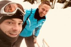 Schlittenfahrt mit Denny in Spindlermühle