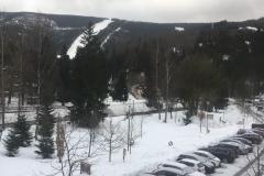 Blick aus Hotel, Spindlermühle