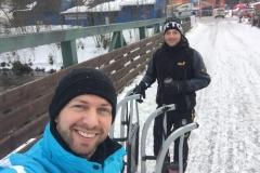 Schlittenfahrt in Spindlermühle