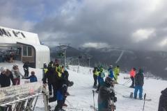 Panoramablick vom Berg, Spindlermühle