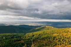 Spindlermühle, Riesengebirge, Panorama, Sommer