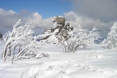 Spindlermühle, Winterlandschaft, Riesengebirge, Winter