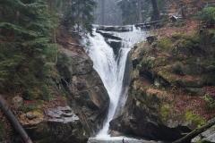 Spindlermühle, Riesengebirge, Wasserfall