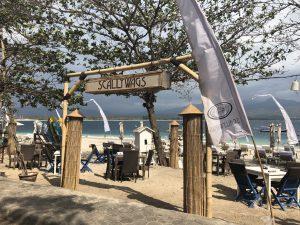 Gili Air Restaurant und Bar am Strand