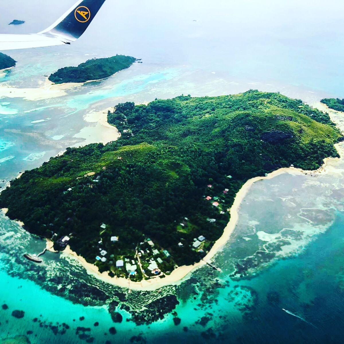 Seychellen Vogelperspektive