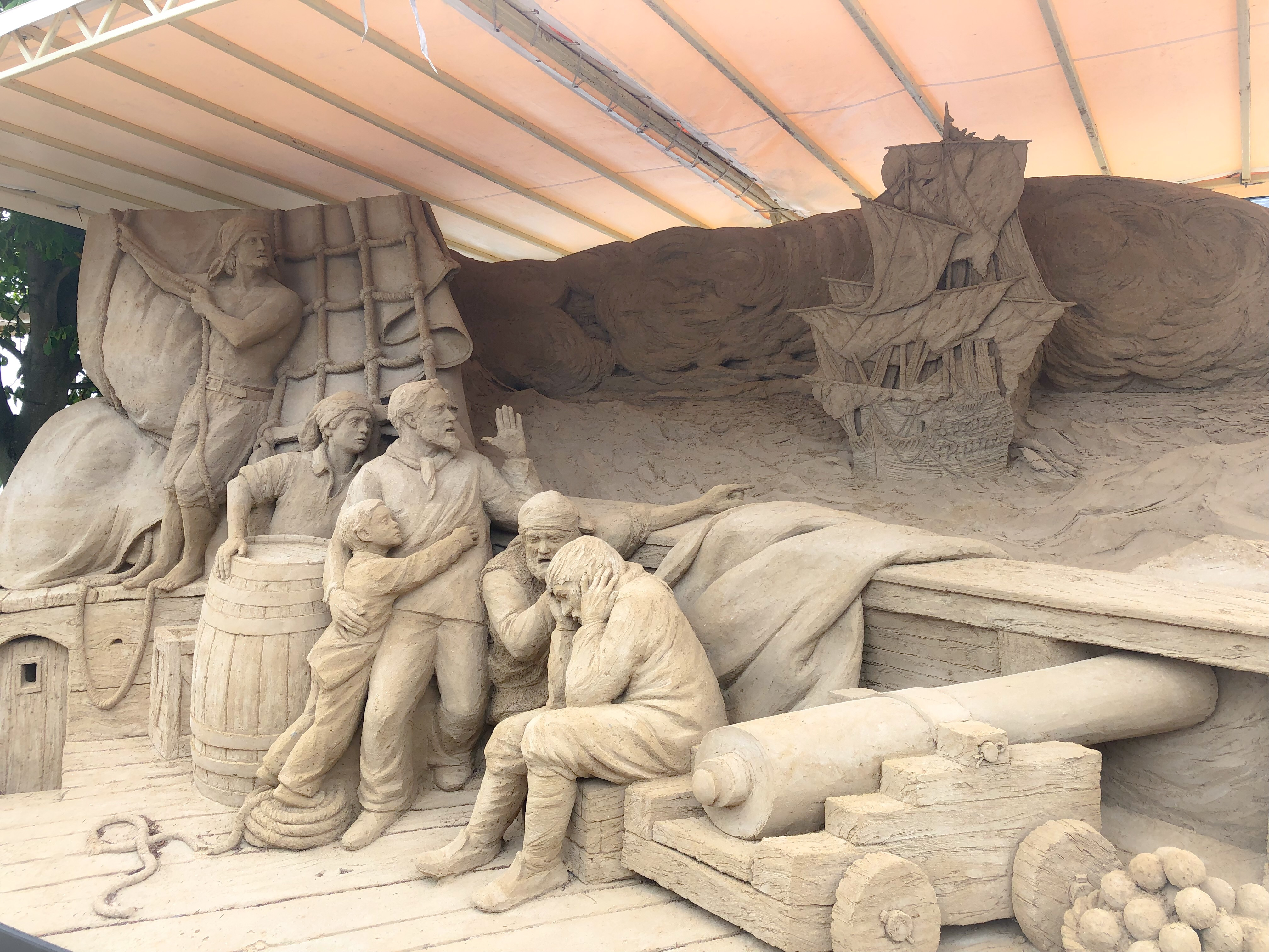 Warnemünder Sandwelten Sandburgen