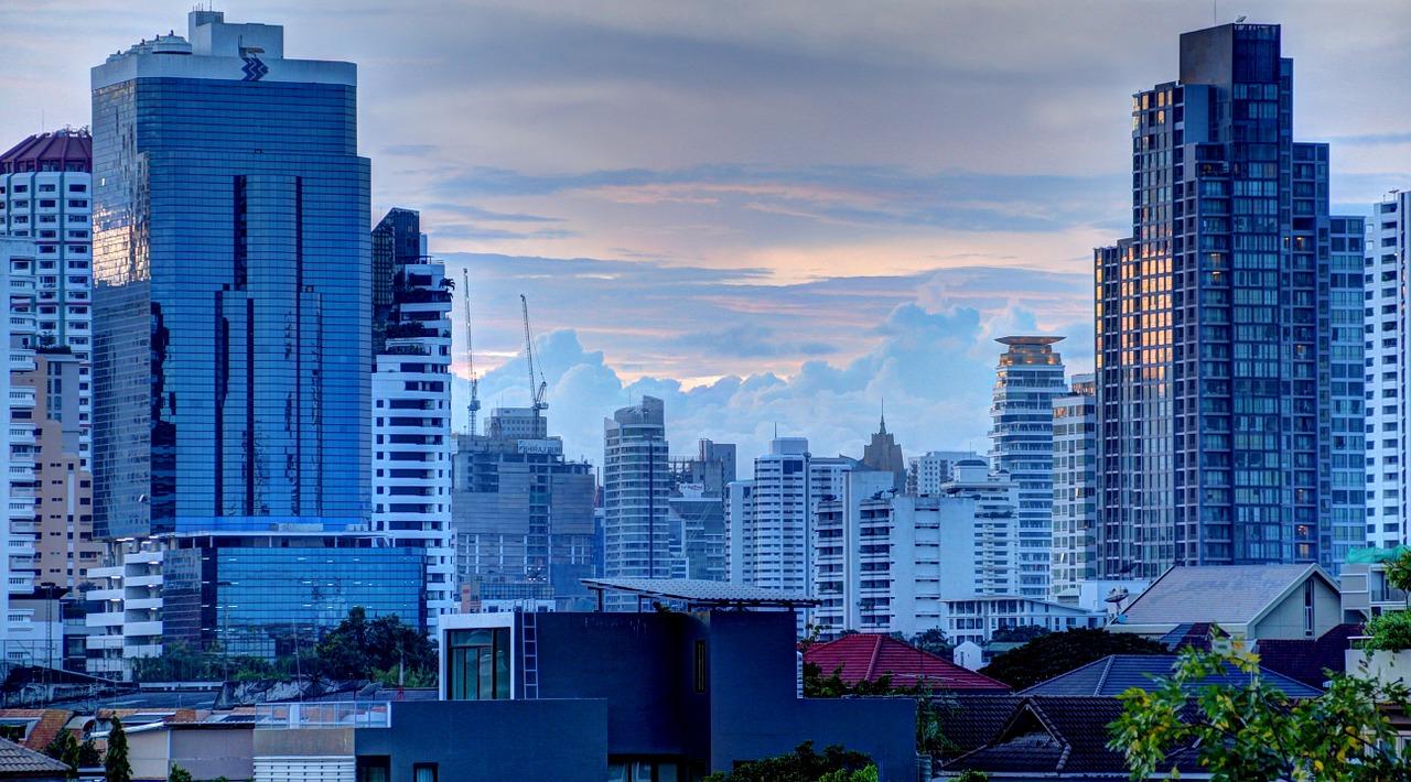 Wo liegt Bangkok?