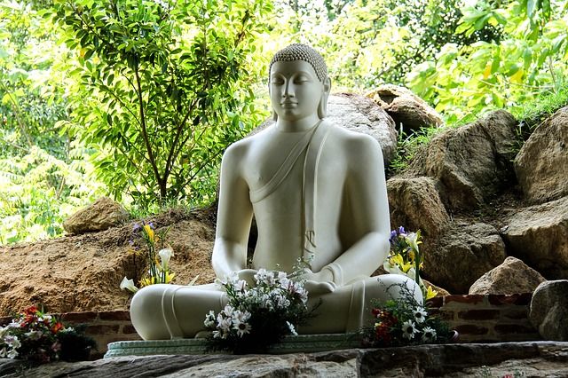 Sri Lanka Buddha Figur